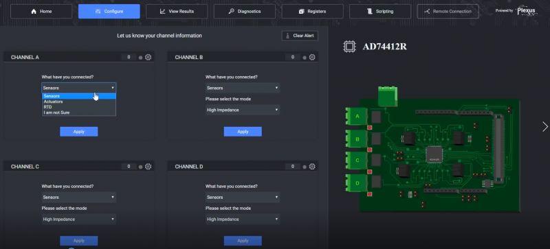 Konfigurowalny programowo interfejs I/O AD74412R od Analog Devices