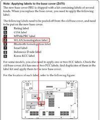 Lenovo Z575 - Menadżer urządzeń nie widzi karty WiFi