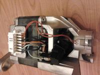 Indesit IWSC4105 - Sprawdzenie silnika - iskrzy