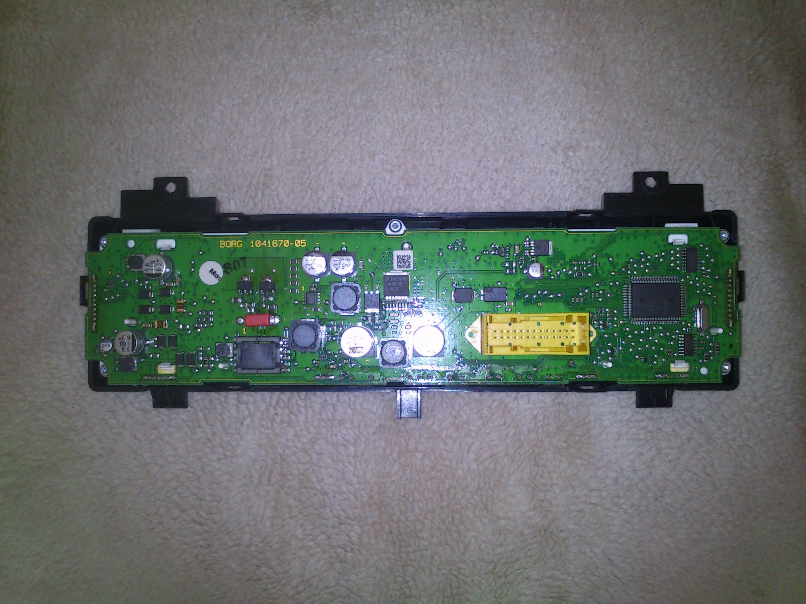 BORG 104670-05 - Licznik digital Citroen C6 -
