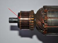 Szlifierka BOSCH - jak sprawdzić uzwojenie wirnika