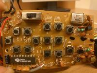 chiński mikroprocesor z oznaczeniem TK 020 aparatura RC, 27.145 MHz