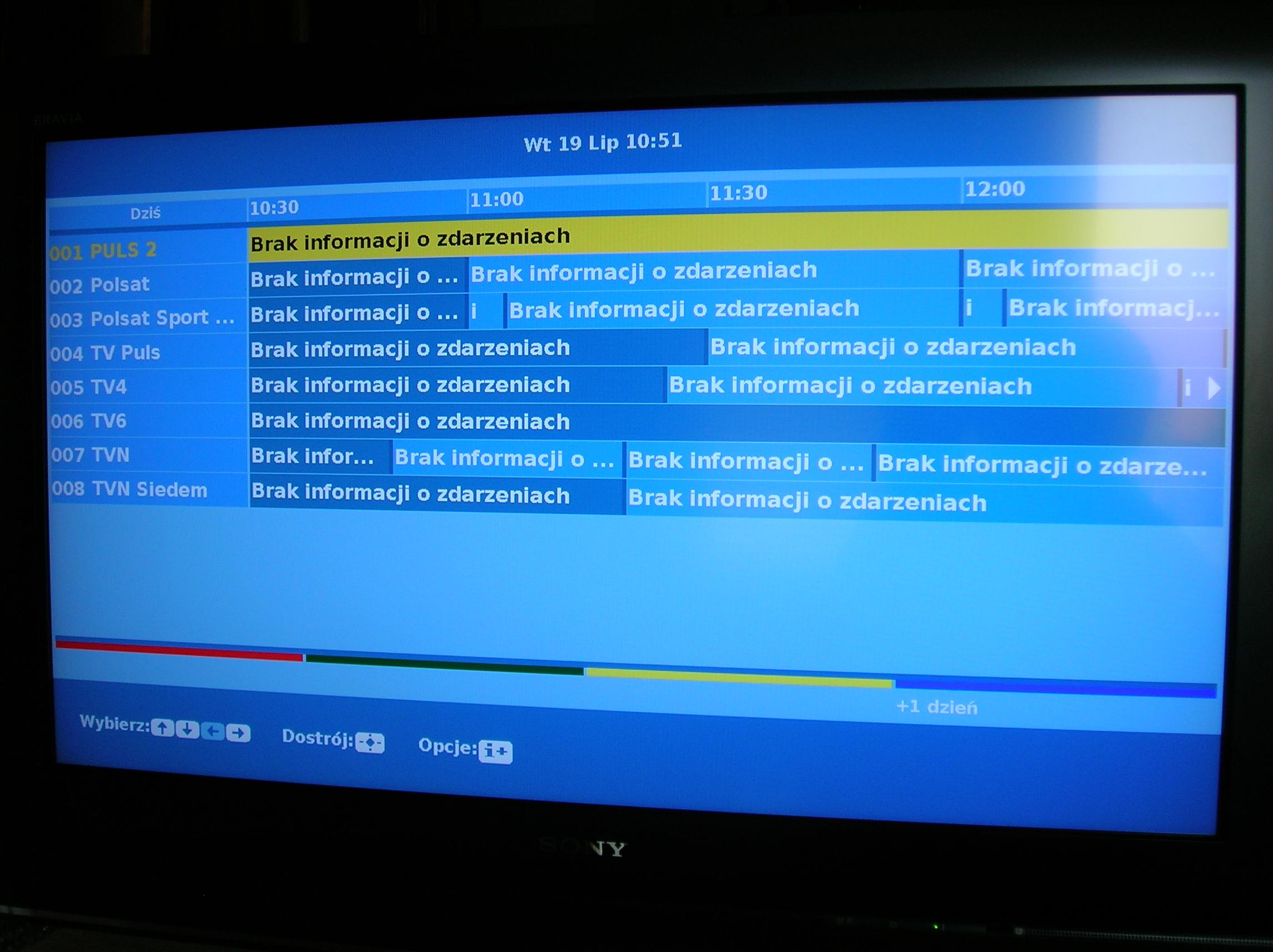 DVB-T brak odbioru MUX-2 Katowice Kosztowy