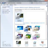 Zarz�dzanie motywami, wygl�d i personalizacja Windows 7