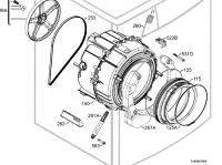 Pralka AEG L16850A3 (91460532100) - gdzie kupić komplet łożysk i simeringów