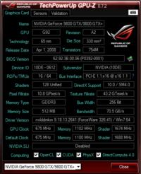 Nvidia GF9800GTX - Wysoka temperatura GPU