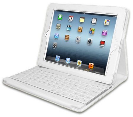 Adesso Compagno 3 WKB-1000DW - klawiatura bluetooth z etui dla iPad 3