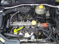 Opel corsa b 95r czujnik temperatury ecu nie podłączony