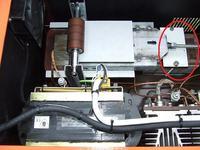 Regulacja prądu spawania dławikiem z ruchomym rdzeniem...