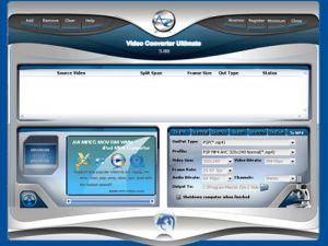 Ultimate Video Converter - konwerter plik�w video AVI, MPEG, itp.