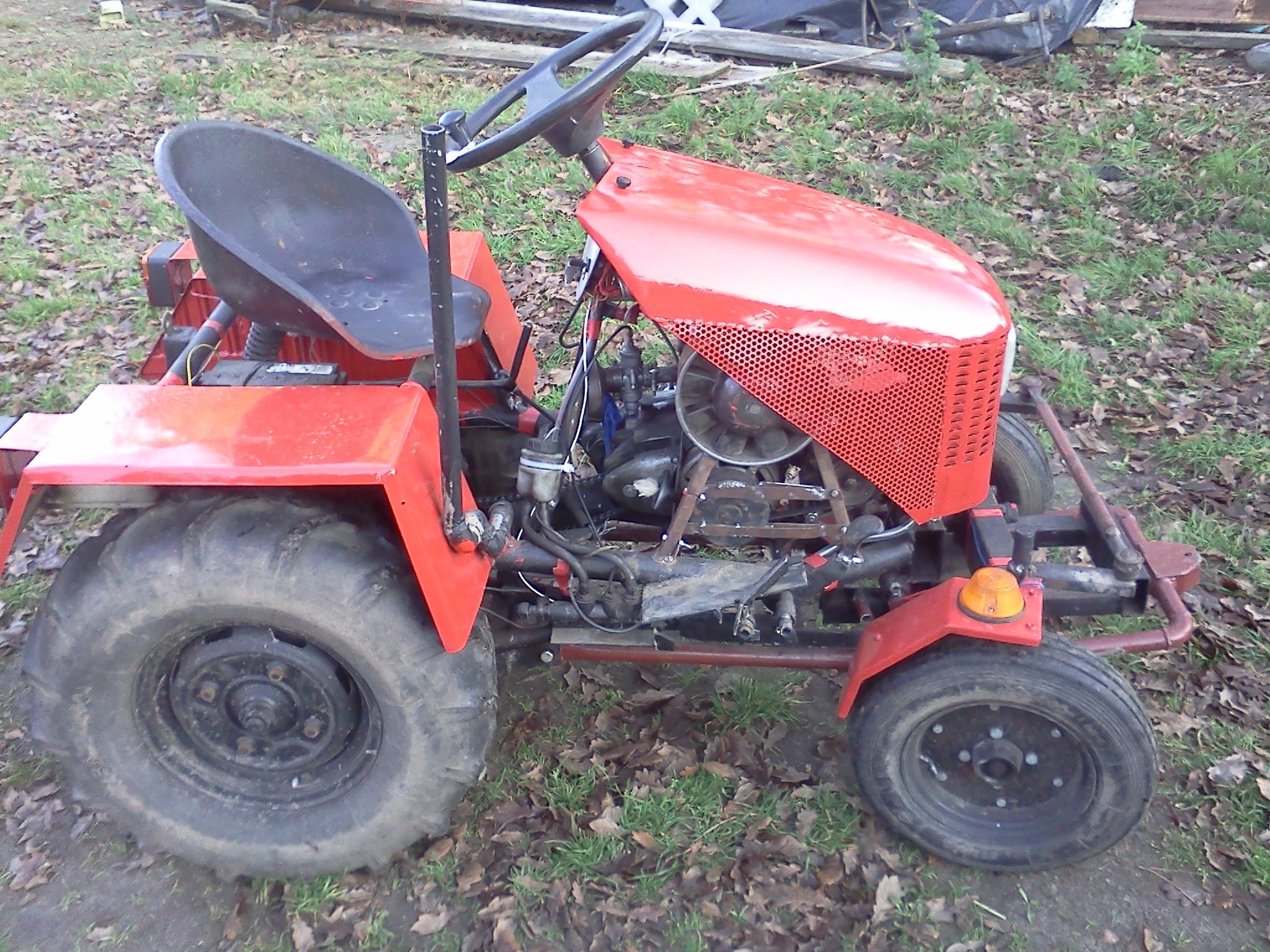 Small Garden Tractor Diy