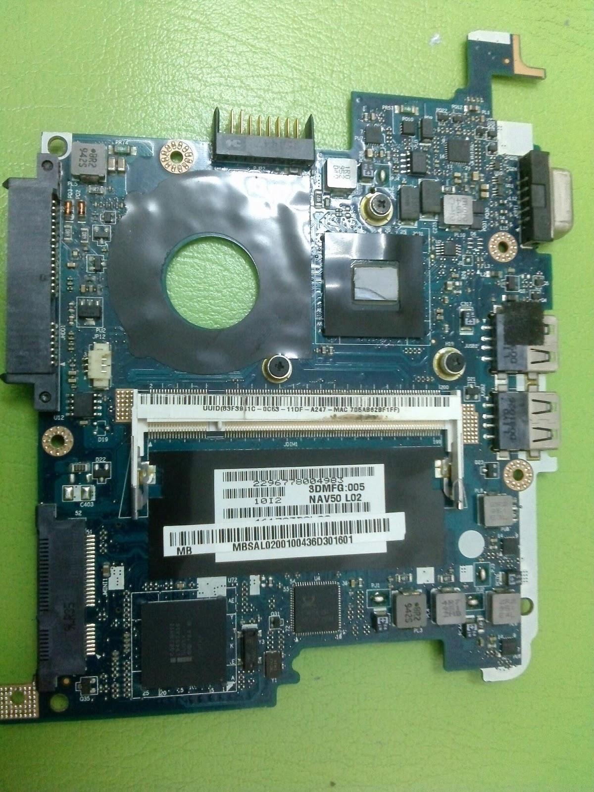 Acer Aspire ONE D260 NAV50 - Brak obrazu.