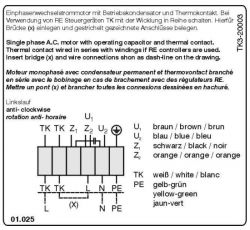 Podpięcie wentylatora Eq-350-4