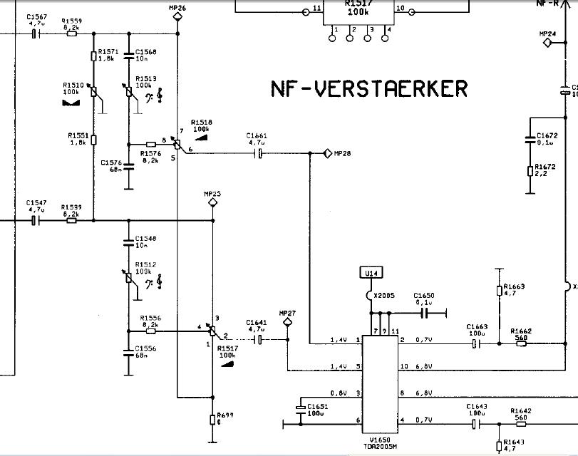 Budowa wzmacniacza 5.1 - 6 x 22W - w oparciu o TDA1553CQ