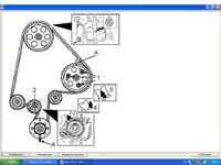 Astra f 1,7D - Ustawienie walu korbowego przy rozrządzie - zrobione :D
