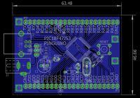 Pinguino47J53 z 128KB Flash, prawie 4KB RAM i bootloaderem USB
