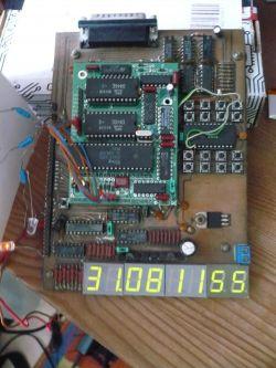 Programowy projekt zegara-datownika na Z8 Zilog