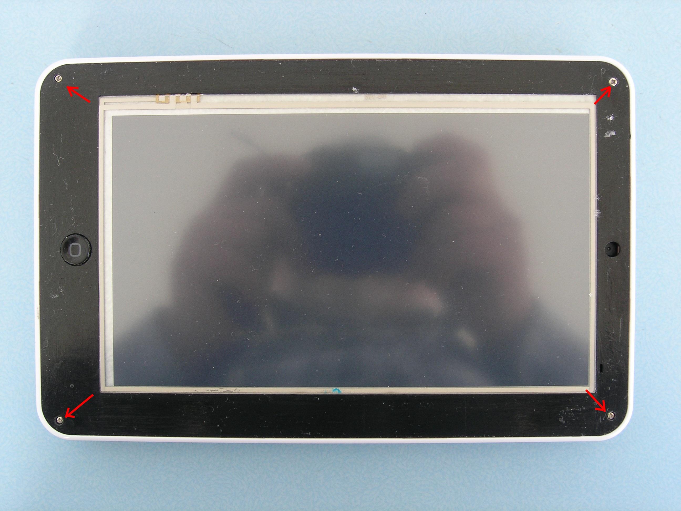 Chi�ski tablet MID - jak otworzy� obudow� ....