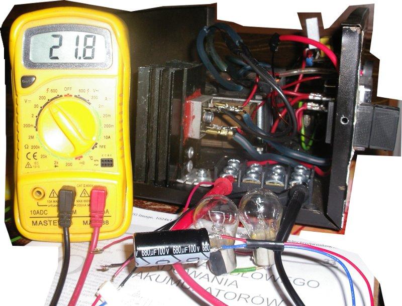 �adowanie akumulatora samochodowego kwasowego