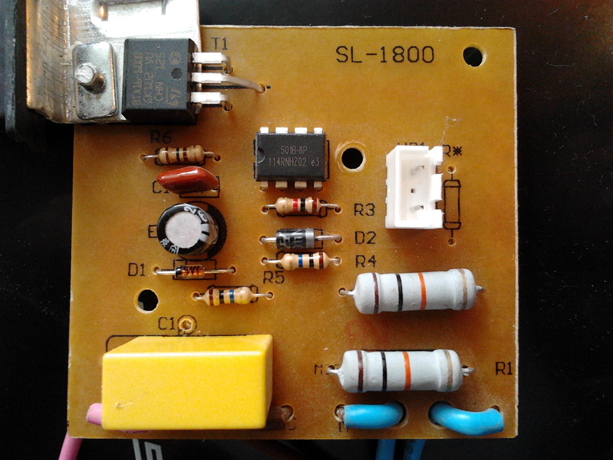 electrolux aeg - niedzia�aj�cy regulator obrot�w odkurzacza