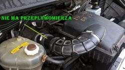Opel Movano 2,5 /115 km z 2003 roku - ciezko pali rano. Cofa sie ropa