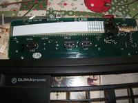 Climatronic panel sterowania passat b3