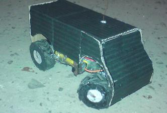 Zdalnie sterowany samochodzik z 3 biegow� skrzynia bieg�w.