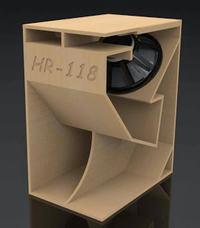 Budowa skrzyni basowej hr118 dobór głośnika.