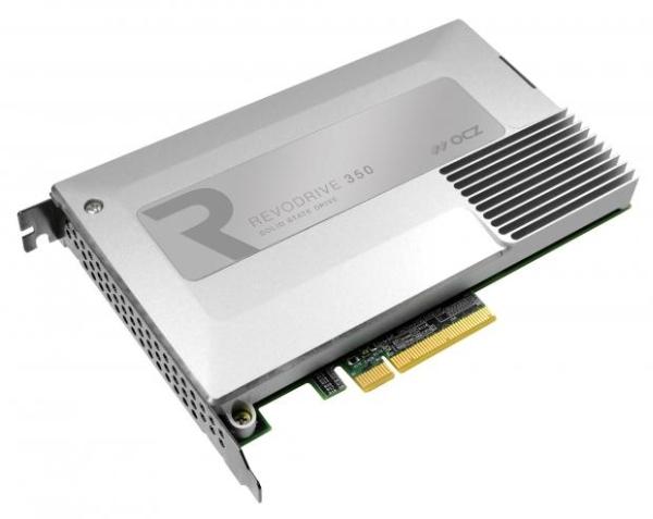 OCZ RevoDrive 350 - dysk SSD na PCI Express o pr�dko�ci do 1800 MB/s