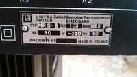 Zestaw Unitra-Mikser, wzmacniacz, komunikator lini, rack