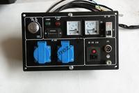 Prądnica 5,5KW połączenie ze skrzynką sterowania