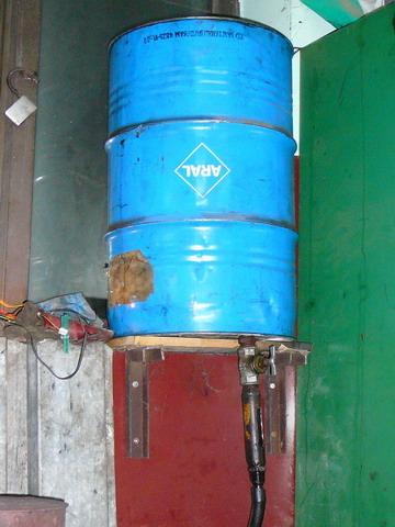 piec na zużyty olej przepracowany