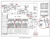 Zegar - MC 1206. Szukam dokładniejszego schematu.