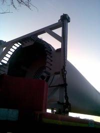 Elektrownia wiatrowa - śmigła