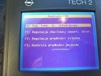 OPEL Astra G - wskaźnik prędkości, obrotów, temperatury paliwa
