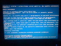 Benq JoyBook A52 i BSODy podczas instalacji Windows XP