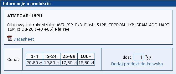 Sytuacja na rynku procesorów 8 i 32 bitowych