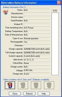 Thinkpad R61i, bateria 42T5233 - nie ładuje się.