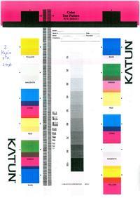 Samsung CLX-3160 różowe wydruki, mieszanie kolorów