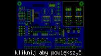 [Eagle-PCB] Sterownik do wzmacniacza