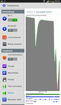 Samsung Galaxy Tab 3.0 7\ - Bateria gwa�towanie roz�adowywana