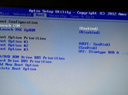 Asus R700V (k75VM) - bios nie widzi żadnego innego dysku