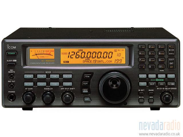 Icom IC-R8500, ICR8500 Instrukcja EN