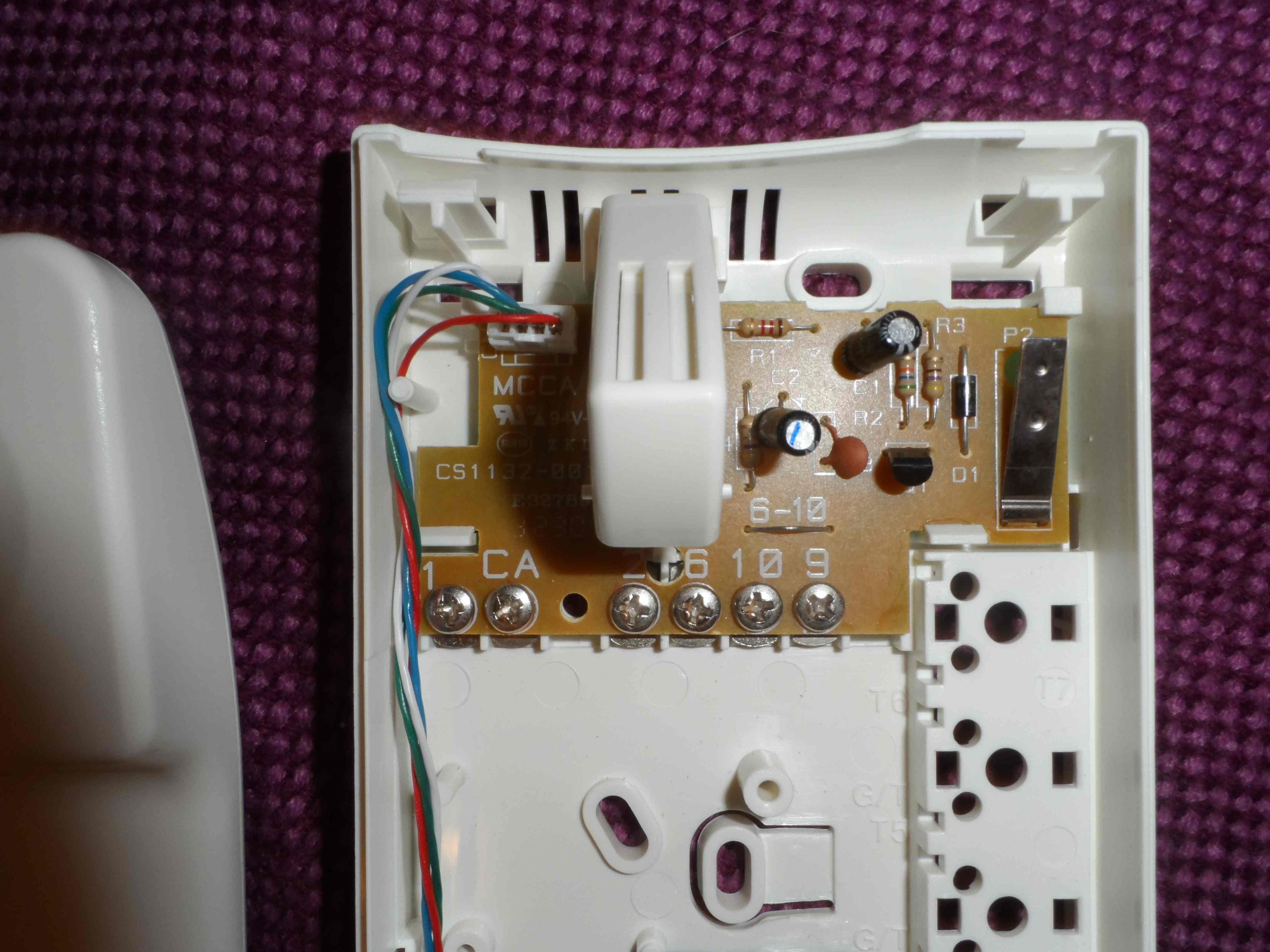 Domofon Miwi 1132 schemat