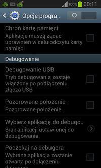 Samsung Galaxy S II I9100 - Nie dzia�a przesy� danych przez USB