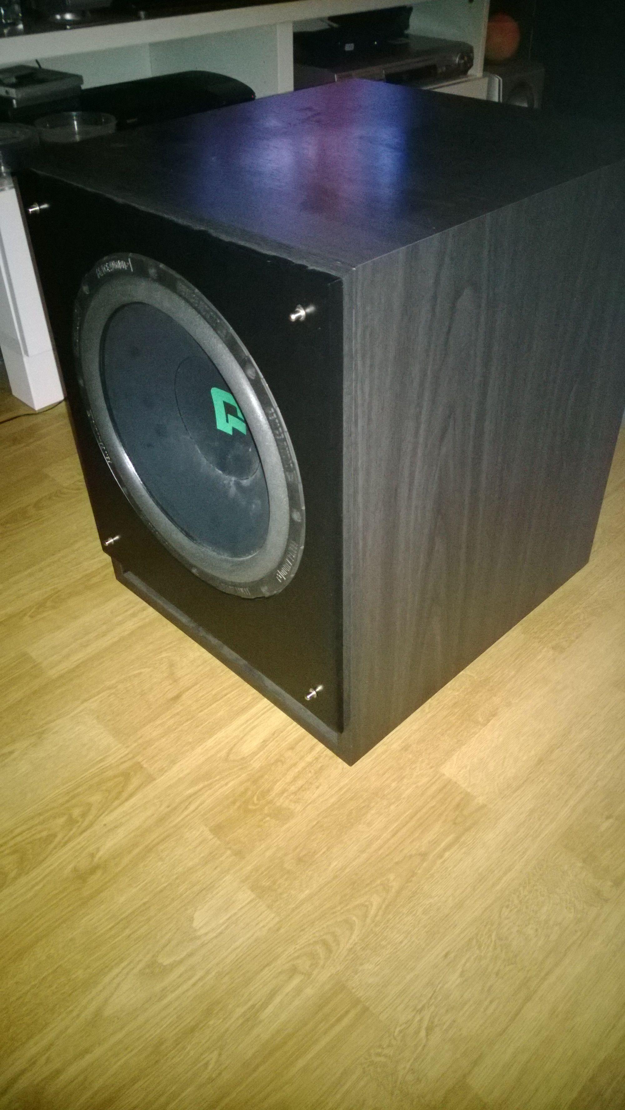 """15"""" Subwoofer - Fence Audio FS-15mk2 - 500W Uszkodzony"""