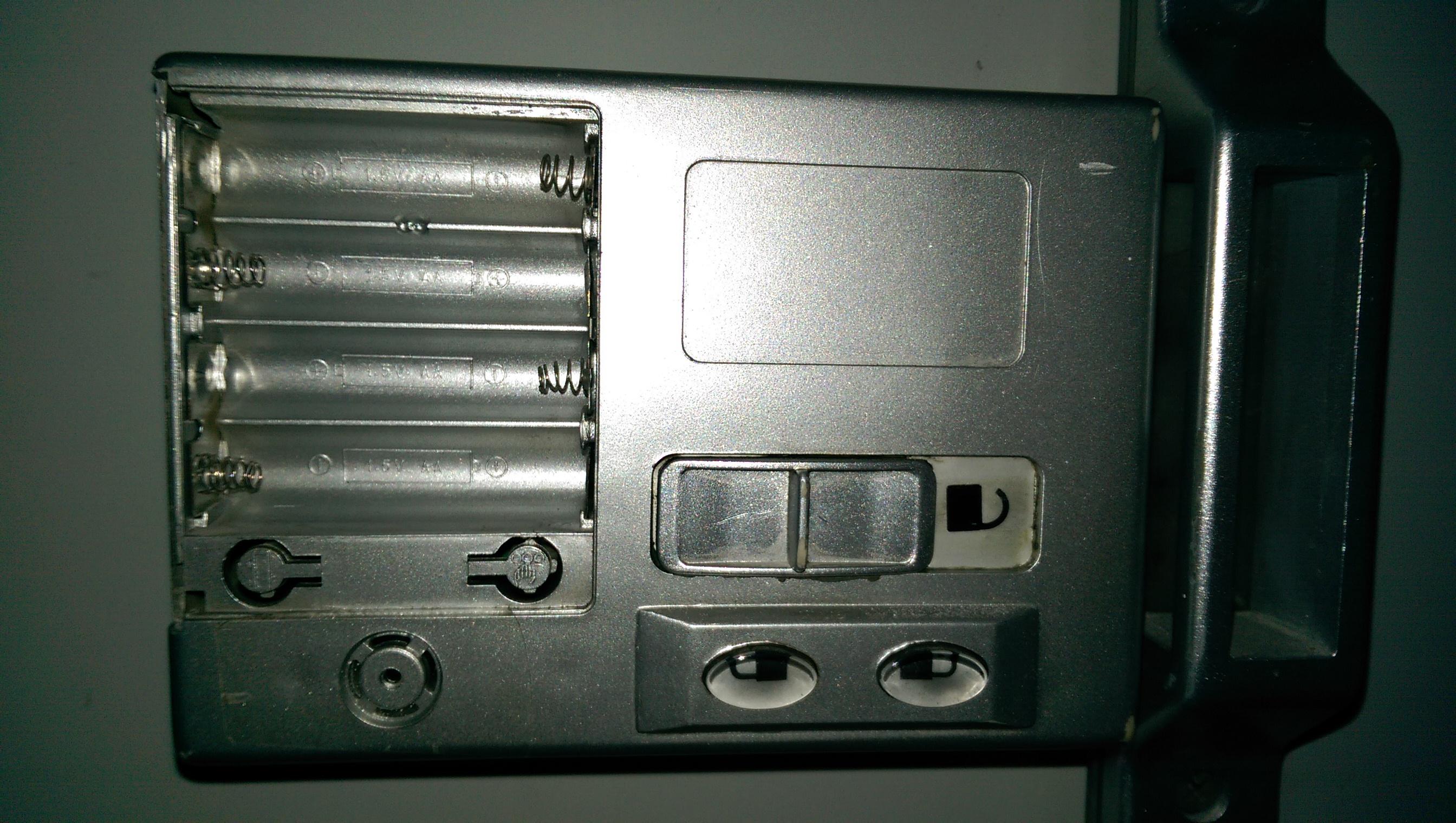 [Szukam instrukcji]Zamek cyfrowy na baterie (jak na zdj�ciu)
