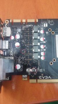 Nvidia GeForce GTX 760 EVEA - czarny ekran po instalacji sterowników.