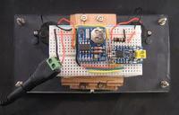Zegar z mierników analogowych