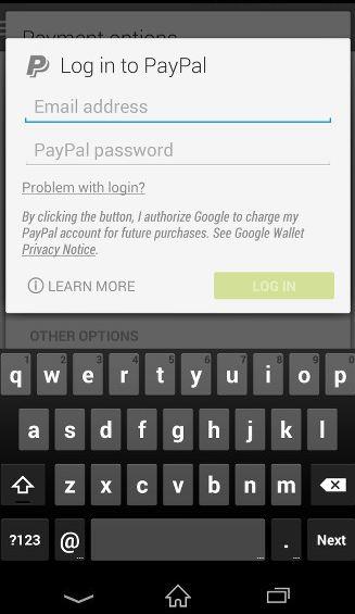 Sklep Google Play wprowadza obs�ug� p�atno�ci PayPal
